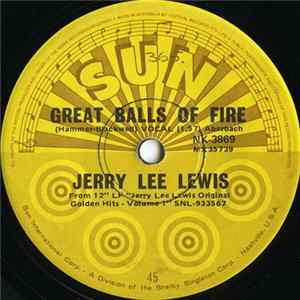 Jerry Lee Lewis - Great Balls Of Fire / Whole Lotta Shakin' Goin' On download