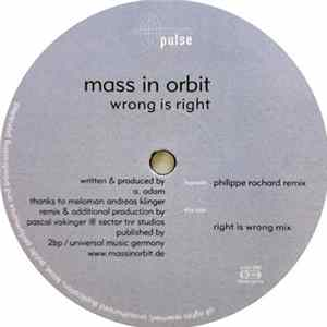 Mass In Orbit - Wrong Is Right download