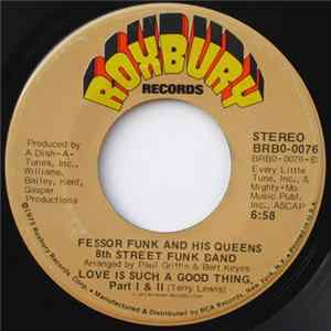 Fessor Funk And His Queens 8th Street Funk Band - Love Is Such A Good Thing download