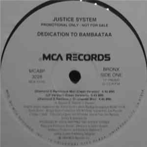 Justice System - Dedication To Bambaataa download
