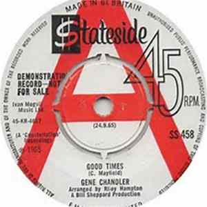 Gene Chandler - Good Times / No One Can Love You (Like I Do) download